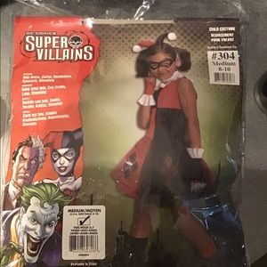 DC Comics Harley Quinn costume medium 8-10